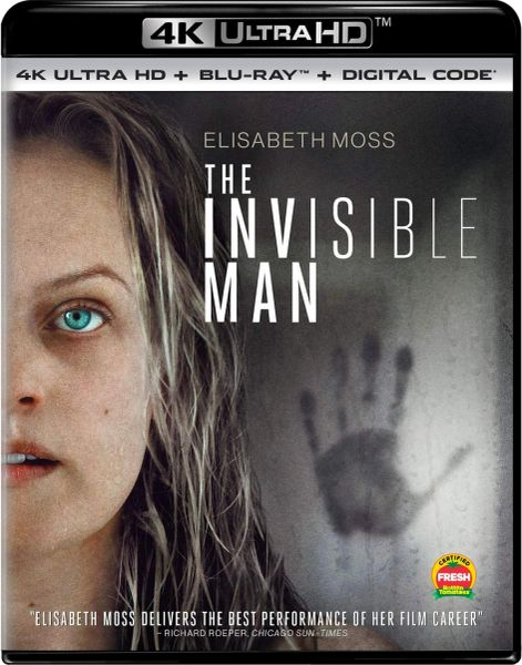 The Invisible Man 4K UHD Code (Movies Anywhere)