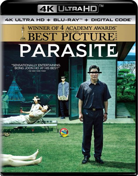 Parasite 4K UHD Code (Movies Anywhere)