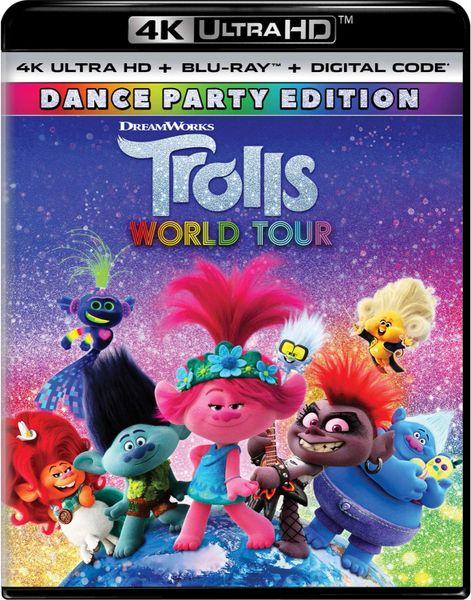 Trolls World Tour Digital 4K UHD Code (Movies Anywhere)