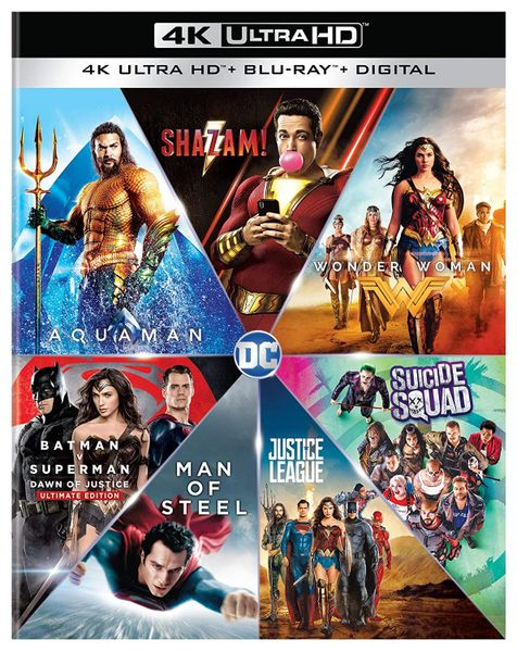 DC 7-Film Collection Digital 4K UHD Code (Movies Anywhere) - one code for 7 movies