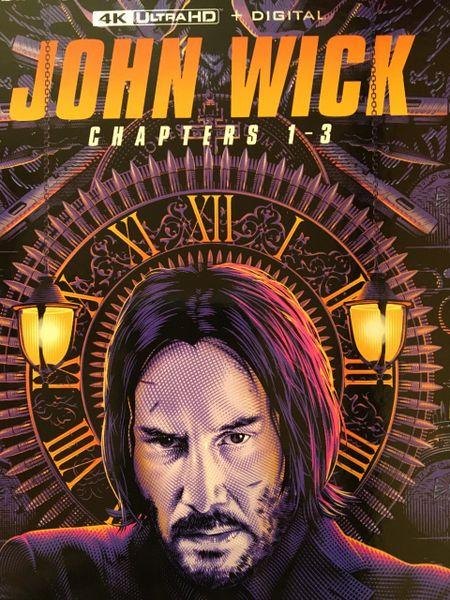 John Wick Trilogy Digital 4K UHD Code