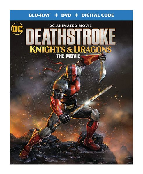Deathstroke: Knights & Dragons Digital HD Code (Movies Anywhere), Code will be sent out on 8/20