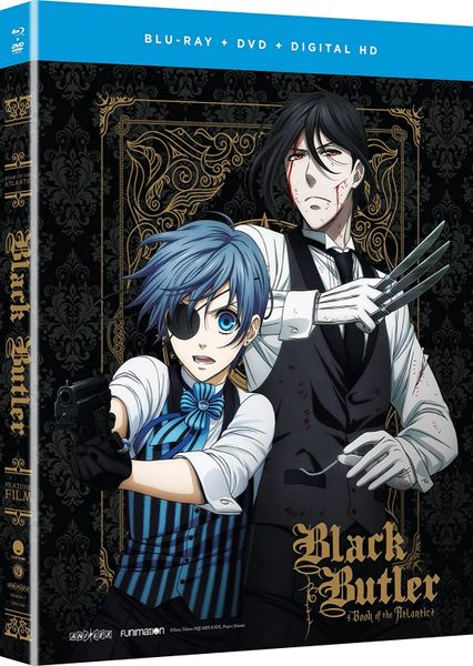 Black Butler - Book of the Atlantic Funimation Digital Code (NO Vudu or iTunes)