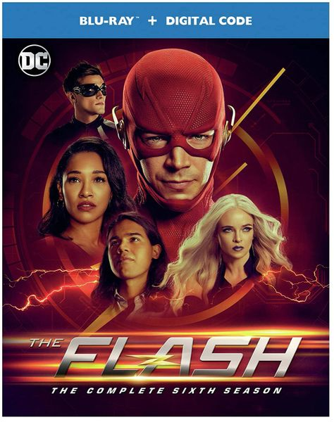The Flash: The Complete Sixth Season Digital HD Code