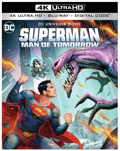 Superman: Man of Tomorrow 4K UHD Code (Movies Anywhere)