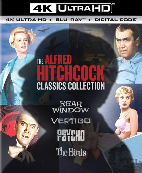 The Alfred Hitchcock Classics Collection 4K UHD Code (Movies Anywhere)