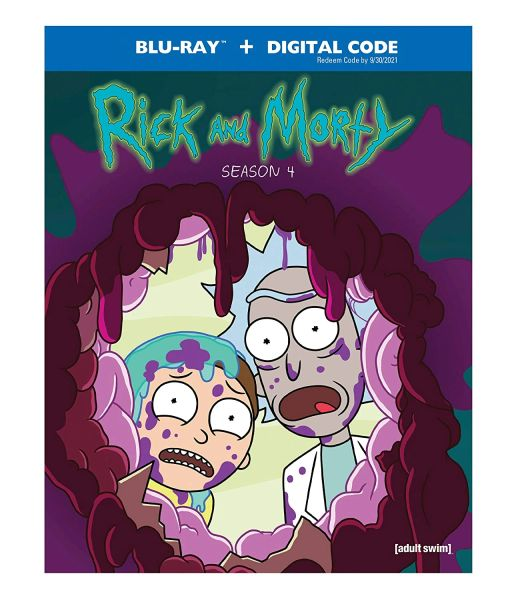 Rick & Morty: Season 4 Digital HD Code