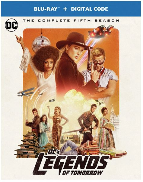 DC's Legends of Tomorrow: The Complete Fifth Season Digital HD Code