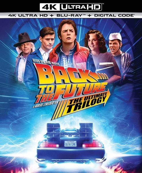 Back to the Future: The Ultimate Trilogy 4K UHD Code (Movies Anywhere)