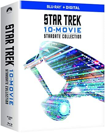 Star Trek 10-Movie Stardate Collection Digital HD Code, each movie has own digital code