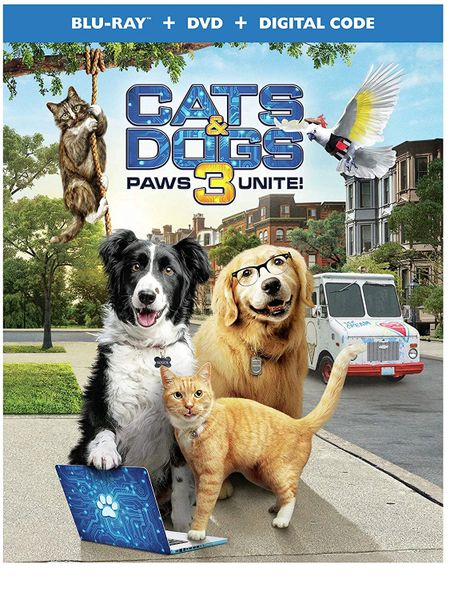 Cats & Dogs 3: Paws Unite! Digital HD Code