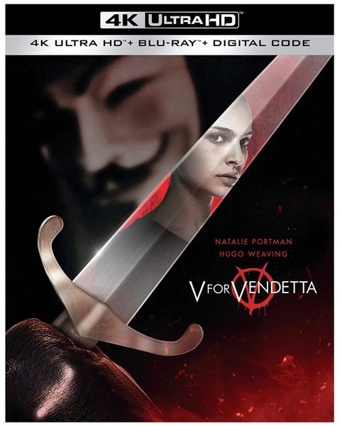 V for Vendetta 4K UHD Code (Movies Anywhere), Code will be sent out on 11/5