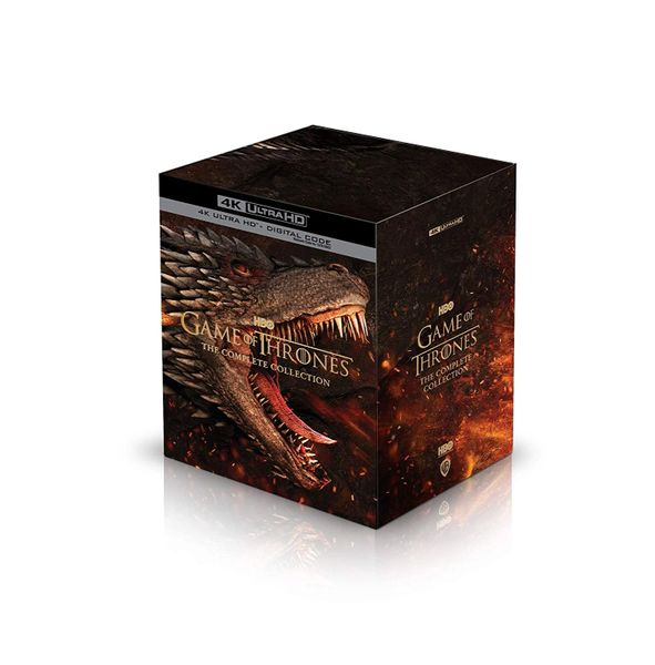 Game of Thrones: The Complete Collection 4K UDH Code, Code will be sent out on 11/5