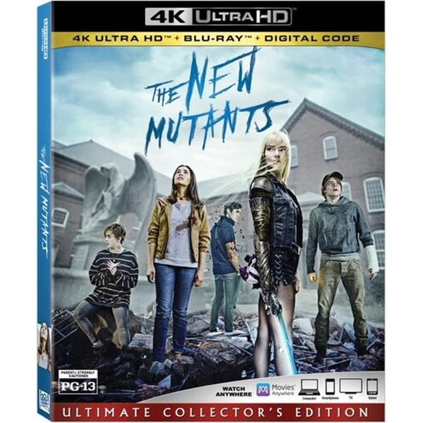 The New Mutants Digital 4K UHD Code (Movies Anywhere)