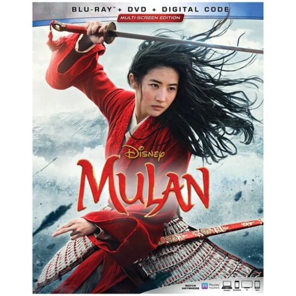 Mulan Digital HD Code (Movies Anywhere)