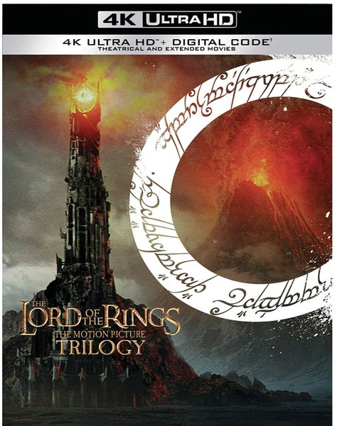 The Lord of the Rings: The Motion Picture Trilogy 4K UHD Digital Code (Movies Anywhere)