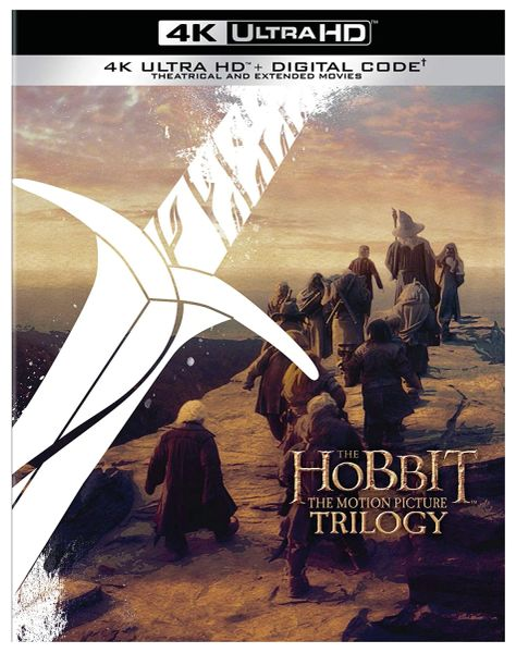 The Hobbit: The Motion Picture Trilogy 4K UHD Digital Code (Movies Anywhere)