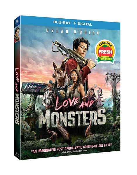 Love and Monsters HD Digital Code