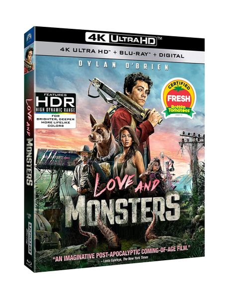 Love and Monsters 4K UHD Digital Code