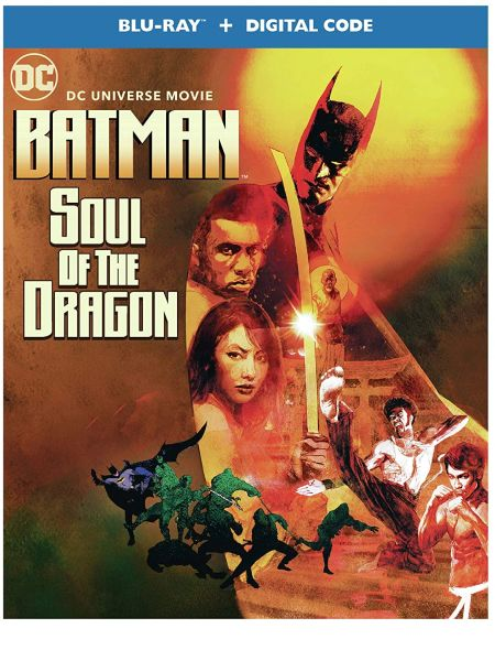 Batman: Soul of the Dragon Digital HD Code (Movies Anywhere), Code will be sent out on 1/28