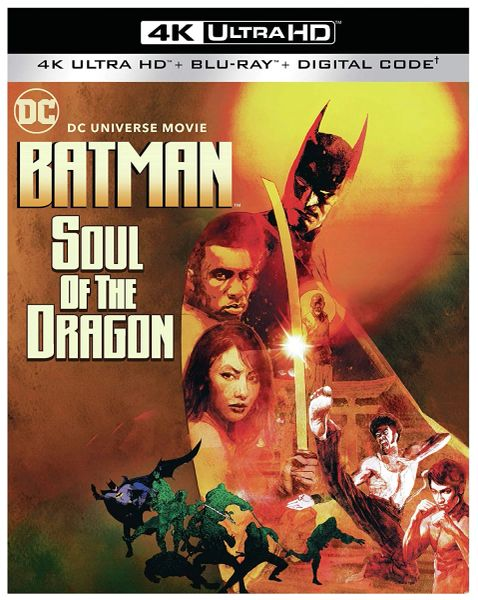 Batman: Soul of the Dragon 4K UHD Digital Code (Movies Anywhere)