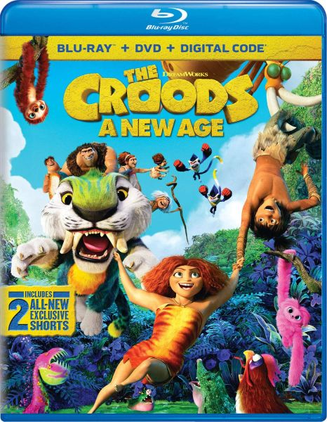 The Croods: A New Age Digital HD Code (Movies Anywhere)