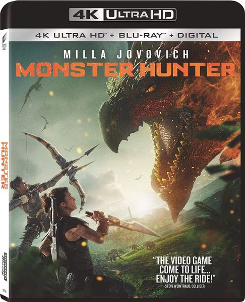 Monster Hunter 4K UHD Code (Movies Anywhere)