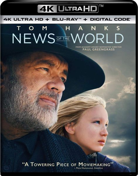 News of the World 4K UHD Code (Movies Anywhere)