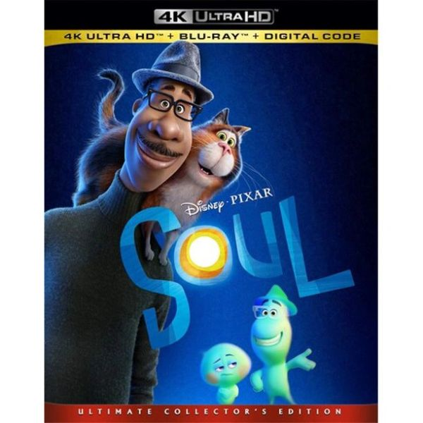 Soul 4K UHD Code (Movies Anywhere)