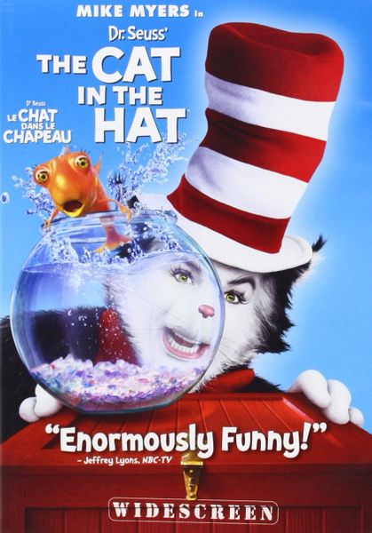 Dr. Seuss' The Cat In The Hat Digital HD Code (Movies Anywhere)