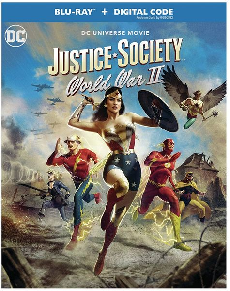 Justice Society: World War II Digital HD Code (Movies Anywhere), Code will be sent out on 5/13