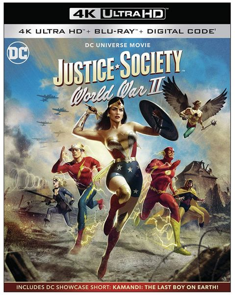 Justice Society: World War II 4K UHD Digital Code (Movies Anywhere), Code will be sent out on 5/13