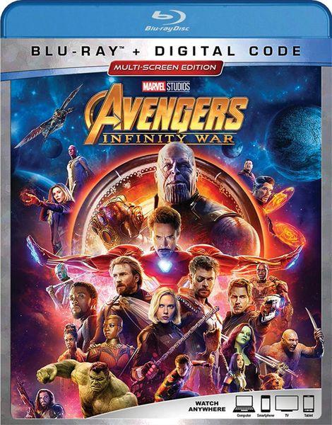 AVENGERS: Infinity War Digital HD Code (Movies Anywhere)