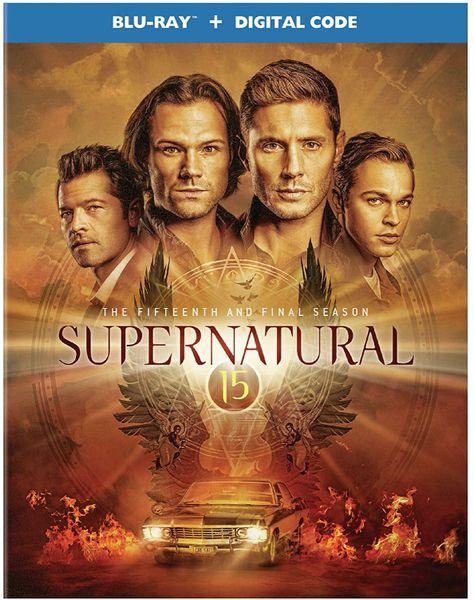Supernatural: The Fifteenth and Final Season Digital HD Code