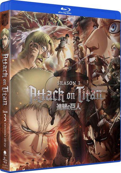 Attack on Titan Season 3 (Part 1 and 2) Funimation Digital HD Code (No VUDU or iTunes)