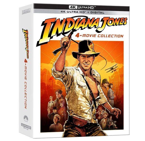 Indiana Jones 4-Movie Collection 4K UHD Code