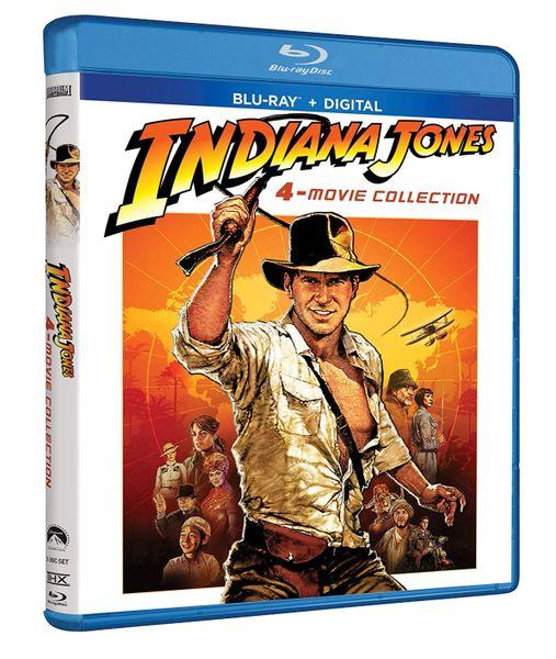 Indiana Jones 4-Movie Collection Digital HD Code