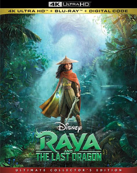 Raya and The Last Dragon 4K UHD Code (Movies Anywhere)
