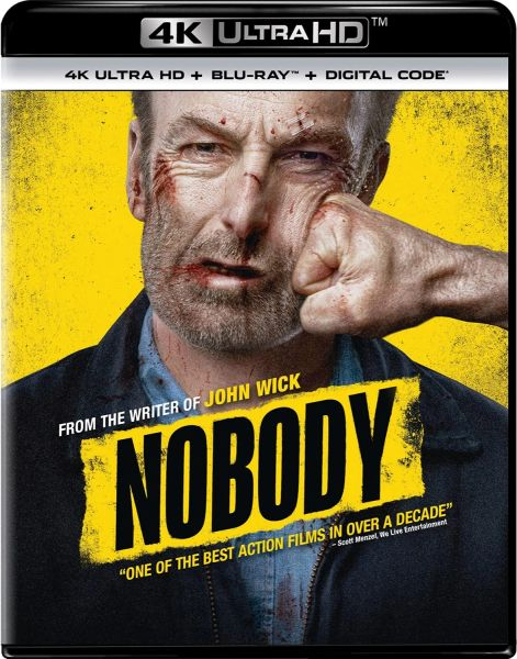 Nobody Digital 4K UHD Code (Movies Anywhere)