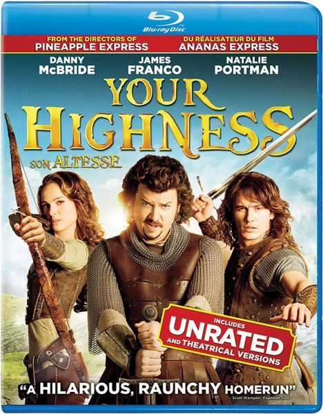 Your Highness (Unrated) HD Digital Code (Movies Anywhere)