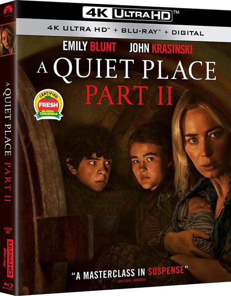 A Quiet Place Part II 4K UHD Code