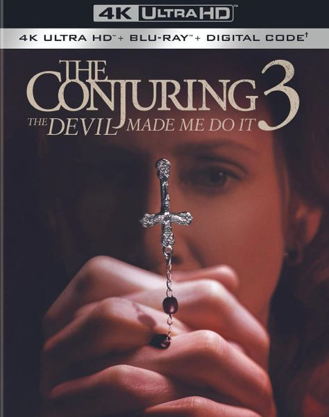 Conjuring 3: The Devil Made Me Do It 4K UHD Code