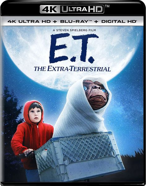 E.T. The Extra-Terrestrial 4K UHD Digital Code (Movies Anywhere)