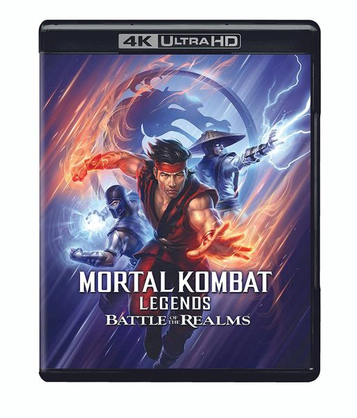 Mortal Kombat Legends: Battle of the Realms 4K UHD Code