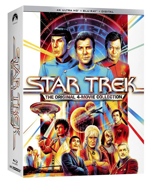 STAR TREK: THE ORIGINAL 4-MOVIE COLLECTION 4K UHD Code