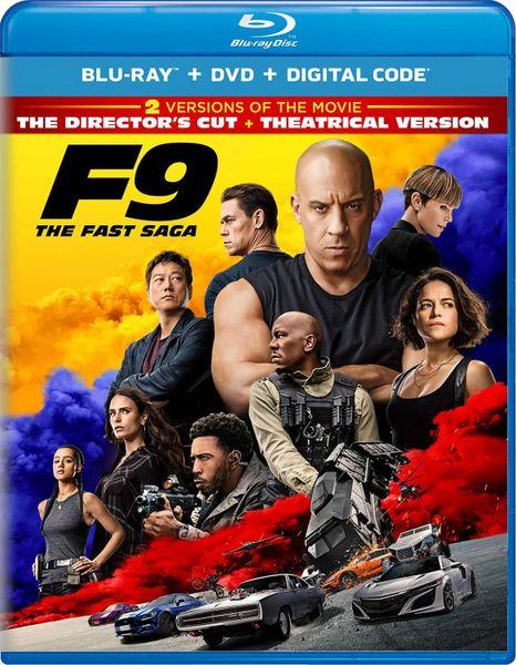 F9: The Fast Saga Digital HD Code (Movies Anywhere)
