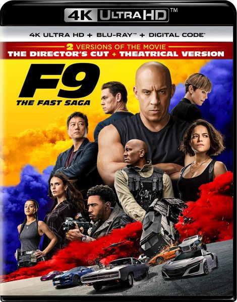 F9: The Fast Saga 4K UHD Code (Movies Anywhere), code will be sent out on 9/29