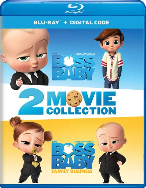The Boss Baby 2-Movie Collection Digital HD Code (Movies Anywhere)