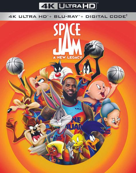 Space Jam: A New Legacy 4K UHD Code (Movies Anywhere)