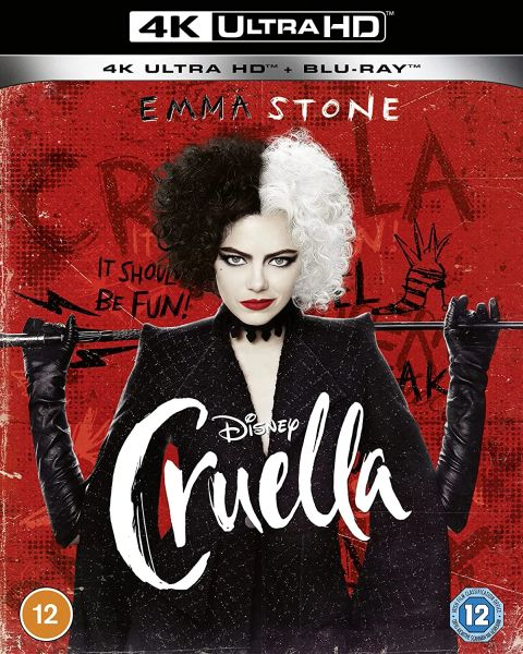 Cruella 4K UHD Code (Movies Anywhere)